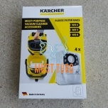 Dust bags Kärcher MV and WD 4 5 6 in a pack of 4 pcs