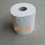 Roll paper 2 ply white 150 meters 100% cellulose