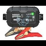 Akulaadija Noco Genius5 5A 6V/12V IP65 toimib -20°C juures
