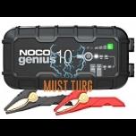 Akulaadija Noco Genius10 10A 6V/12V IP65 toimib -20°C juures
