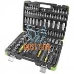 "Tool case 179-piece 1/4 ""3/8"" 1/2 ""Torx JBM"