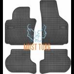 Rubber mats 4pcs Volkswagen Skoda Seat