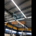Led luminaire 45W 230V IP20 4050lm 4000K thin housing 1500x75x25mm Kobi
