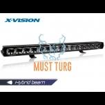 High beam X-Vision Genesis II 1100 Hybrid beam with parking light 9-36V 210W 14800lm ref.50 4700K