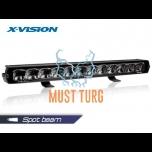 Kaugtuli X-Vision Genesis II 800 Spot beam parktulega 9-36V 130W 10100lm ref.50 4700K