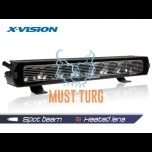 X-Vision Genesis II 600 Spot beam for park light and heated 9-36V 142W 6600lm ref.50 4700K