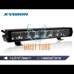 X-Vision Genesis II 600 Hybrid beam with parking light and heating 9-36V 155W 7400lm ref.50 4500K