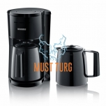 Coffee machine with two thermos jugs Severin