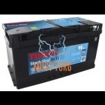Car battery 95Ah 850A 351X174X190MM - / + AGM