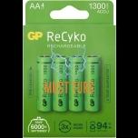Batteries AA 1300mAh GP 4pcs