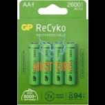 Batteries AA 2600mAh GP 4pcs