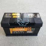 Car battery 100Ah 850A 353X175X190 - / + AutoParts