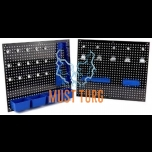 Perforated plates 2 pcs with a set of 32 accessories