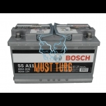 Car battery 80Ah 800A 315X175X190mm - / + AGM Bosch 0092S5A110