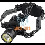 Headlamp with battery 800lm 10W 2 × 18650 3.7V 3500mAh JBM