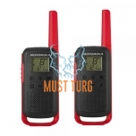 Portable radio stations Motorola Talkabout T62 RED included 2 pcs