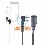 Headphones with microphone 2-pin Midland plug PNI HF34