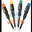 Set of mini screwdrivers 4 pieces 16 different profiles