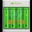 Batteries 4xAA 2100mAh with USB battery charger for AA / AAA GP batteries