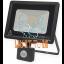Floodlight with motion sensor 30W 230V 2400lm IP44 LED2B