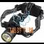 Headlamp with battery 800lm 10W 2 × 18650 3.7V 3500mAh JBM
