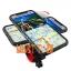 Universal mobile phone mounting bracket for the handlebar